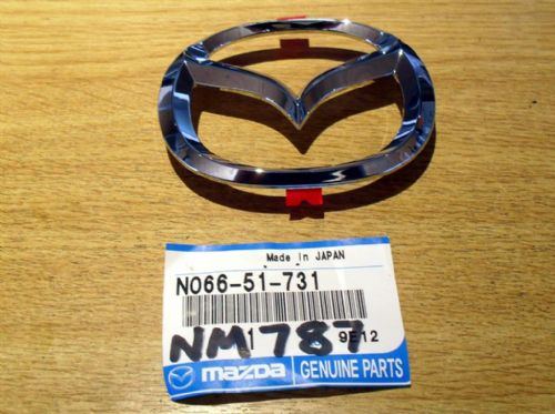 Badge, Mazda MX-5 mk2.5, wings type, front, N06651731